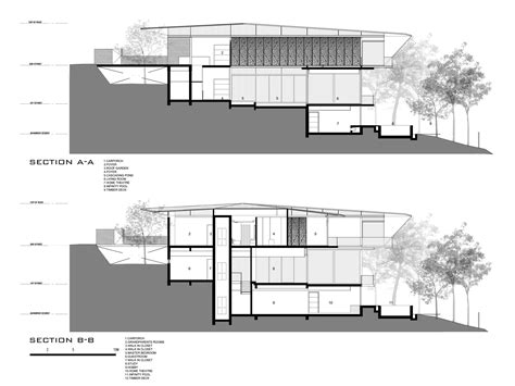 Sloped Lot Floor Plans by Gallery Of Hillside House Ar43 Architects 16