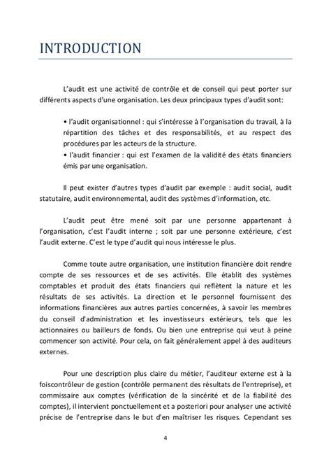 Rapport De Stage Dans Un Cabinet Comptable by Rapport De Stage Challenge Audit Gestion De La