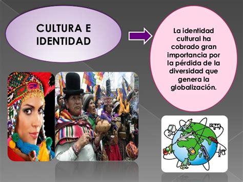 libro la identidad cultural no identidad cultural