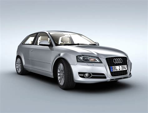 Audi A3 Models by Cgtrader