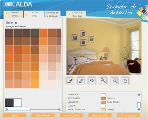 simulador de colores de pinturas para interiores decorar usando un simulador de ambientes