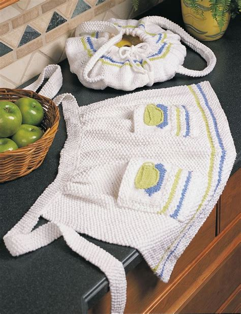 pattern for knitted apron yarnspirations com lily apron patterns