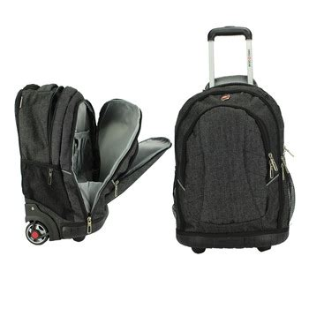 rolling backpack with laptop compartment | click backpacks