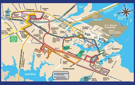 maryland map annapolis routes schedules annapolis md