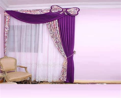Purple Curtains for Bedroom Ideas : Purple Curtains for