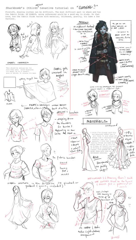 design clothes tutorial clothing tutorial notes by shark bomb on deviantart