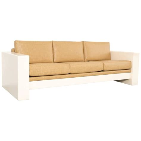 metropolitan sofa brian kane for metropolitan fiberglass sofa for sale at