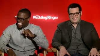 THE WEDDING RINGER   Josh Gad Gives Kevin Hart His Best