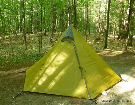 3 section tent my trail company pyramid 3 tent review section hikers