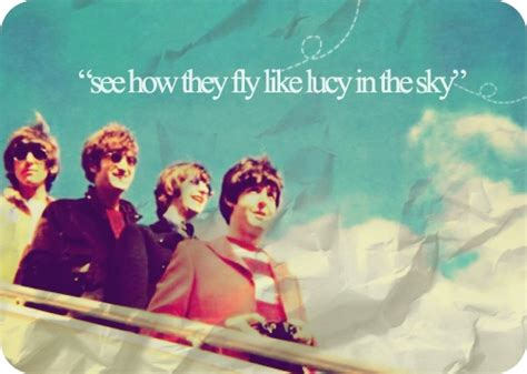 the beatles lucy in the sky with diamonds lucy in the sky raindrops on roses pinterest