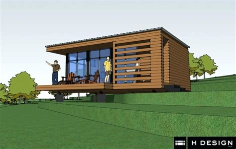 small modern cabin plans house floor plans