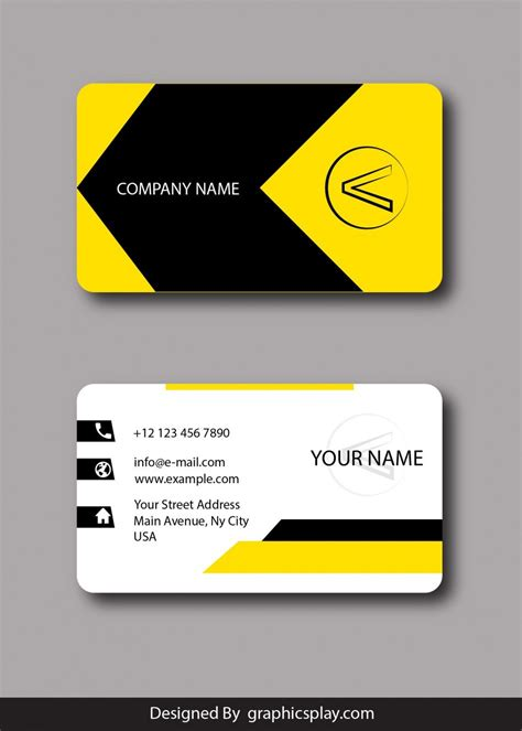 designer visiting cards templates business card design vector template id 1796 graphicsplay