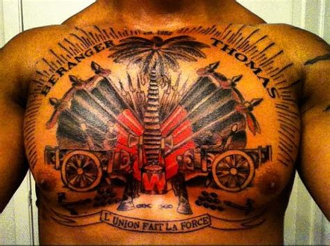 haiti tattoo designs haitian flag images