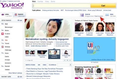 cara membuat akun email yahoo indonesia buat akun email yahoo cara daftar yahoo indonesia