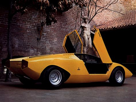 Prototype Lamborghini Lamborghini Countach Lp500 Prototype 1971 Concept Cars