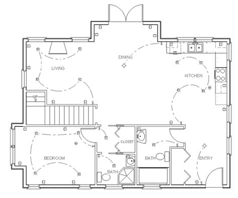 make your own blueprint how to draw floor plans for