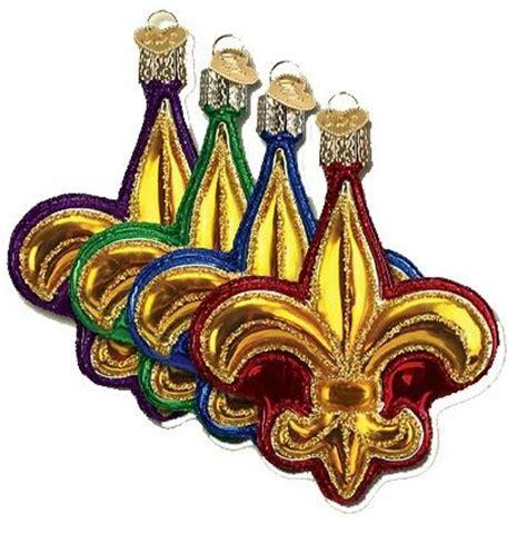 new orleans saints christmas ornaments fleur de lis