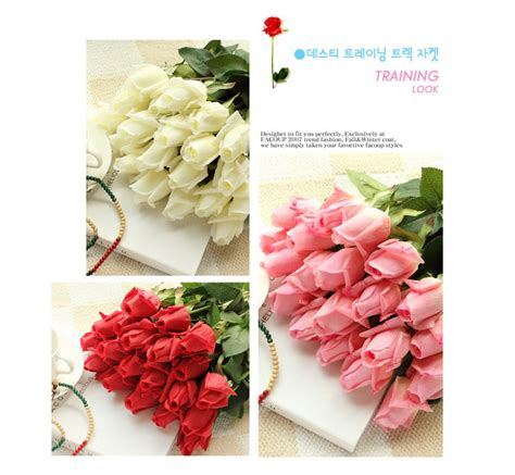 fresh centerpieces free shipping free shipping 11pcs lot fresh artificial flowers