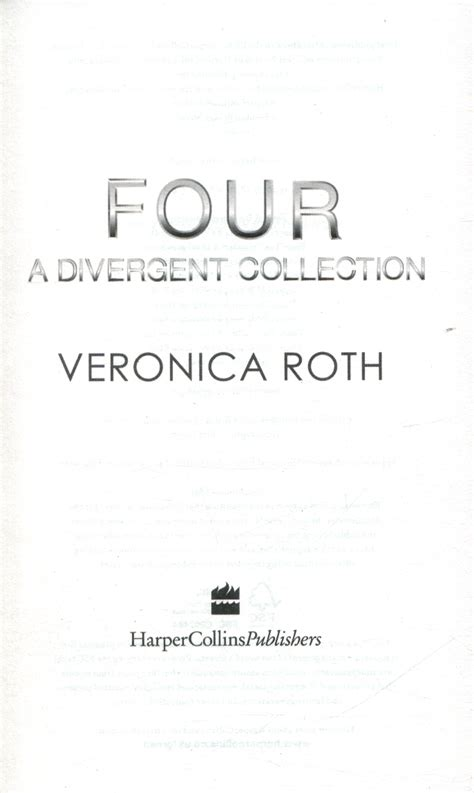 0007584644 four a divergent collection four a divergent collection by roth veronica