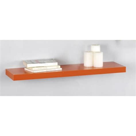 Etagere Murale Fixation Invisible 2195 by D 233 Tag 232 Re Murale En Orange Quot Kubox Quot Fixation Invisible
