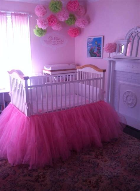 Tutu Crib Bedding 25 Best Ideas About Tutu Crib Skirt On Pinterest Tulle Crib Skirts Tulle Crafts And Tulle