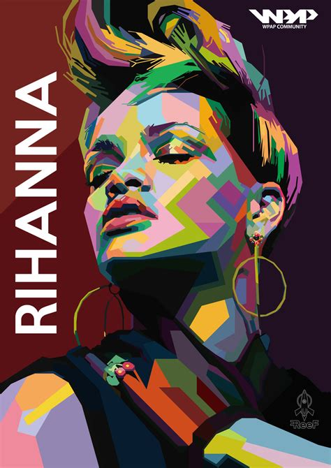 pop arty idea wpap on pop portraits low poly and