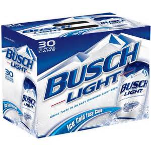 busch light 12 fl oz 30 pack beverages walmart