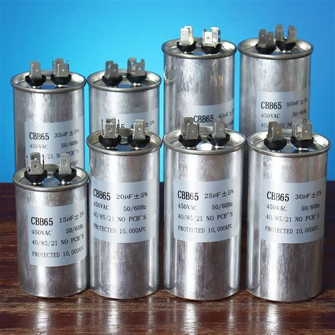 air conditioning compressor capacitor 15 50uf motor capacitor cbb65 450vac air conditioner compressor start capacitor alex nld
