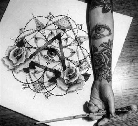 small tattoos for sleeves best 25 geometric tattoos ideas on mens