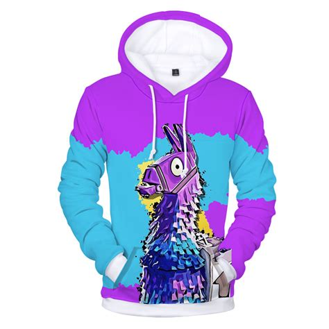 fortnite clothing achat sweatshirt capuche fortnite lama switch nintendo