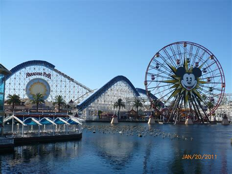 in california disneyland resort in california california united states