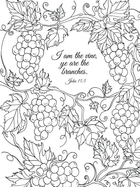 Coloring Page Vine And Branches by Vine And Branches Coloring Page Rachsl Co
