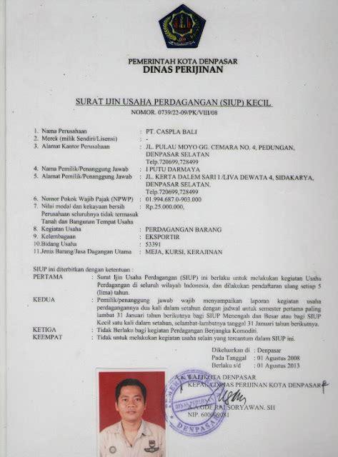 on working contoh dokumen siup npwp akta notaris