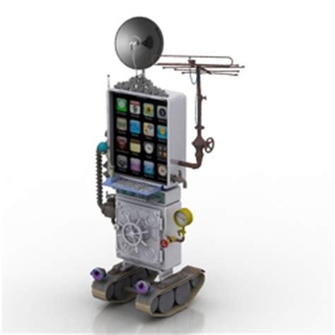 Mainan Robot Mobile Telephone 3d communication equipment robot mobile phone n110514