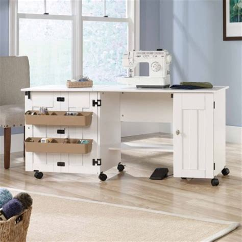 Sauder Sewing And Craft Table by Sauder Sewing And Craft Table Finishes Walmart