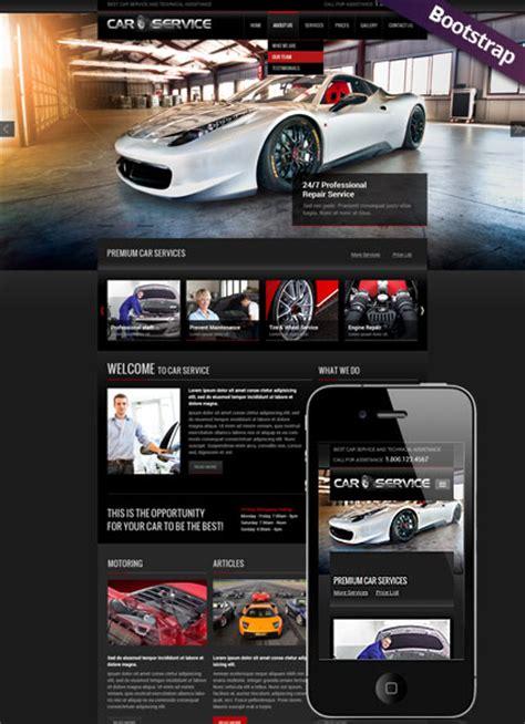 Car Service Html Website Template Best Website Templates Car Service Website Template
