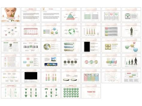Bio Cosmetics Powerpoint Templates Bio Cosmetics Biography Powerpoint Template