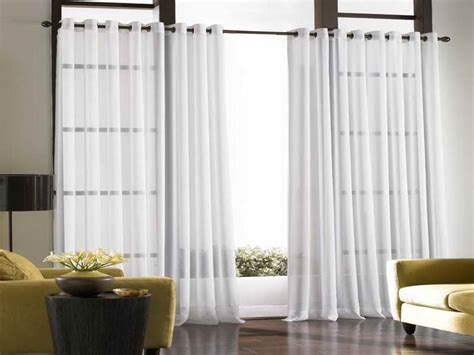 Decorating Ideas Sliding Glass Door Curtains Patio Door Curtains