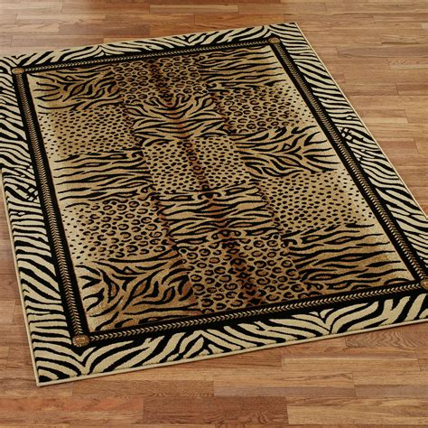 cheap animal skin rugs well made leopard skin pattern design popular home interior decoration