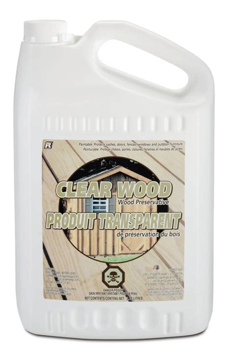 recochem clear wood preservative 3 78 l the home depot