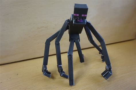 How To Make A Paper Enderman - papercraft bendable mutant enderman no toothpicks