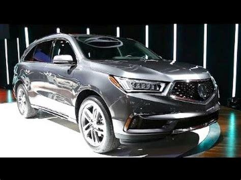 2017 acura mdx 2016 new york auto show youtube