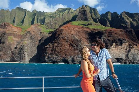 napali coast boat tour sunset 8 best kauai sunset dinner cruise images on pinterest