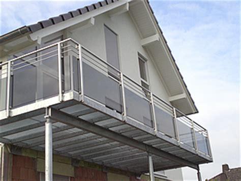 balkongeländer edelstahl bausatz schlosserei hoppe balkongel 228 nder edelstahl