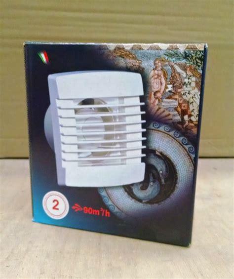 aspiratori da bagno aspiratore d da bagno e cucina asm 100 t con timer
