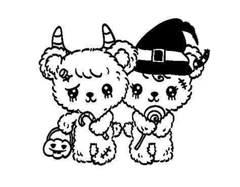 imagenes de zombies kawaii dibujo de ositos zombie para colorear dibujos net
