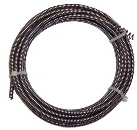 Drain Snake New 25 Ft Drain Auger Cable Replacement Cleaner Snake Clog