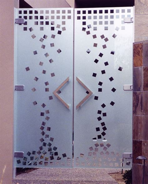 glass door sticker designs india etched glass gate sans soucie glass
