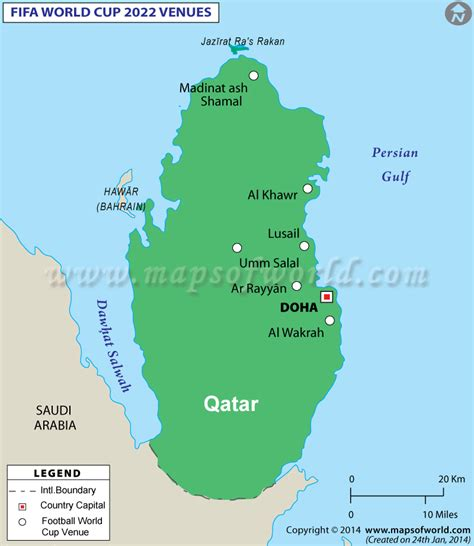 world cup 2018 cities map the distance between 10 of the 12 proposed qatar stadiums