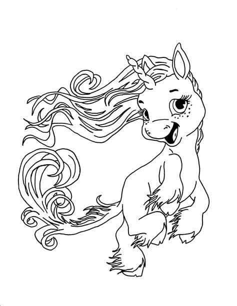 Black And White Coloring Pages Of Unicorns | unicorn coloring pages coloringsuite com